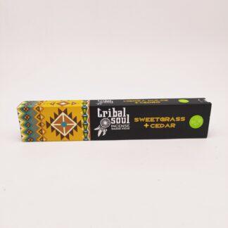 Encens indien Tribal soul Foin d'Odeur + Cèdre 15 gr