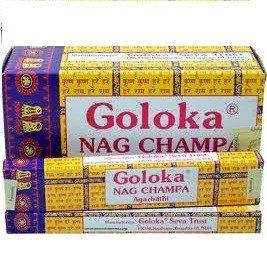 12 x Encens GOLOKA Nag Champa 16g - Nag Champa