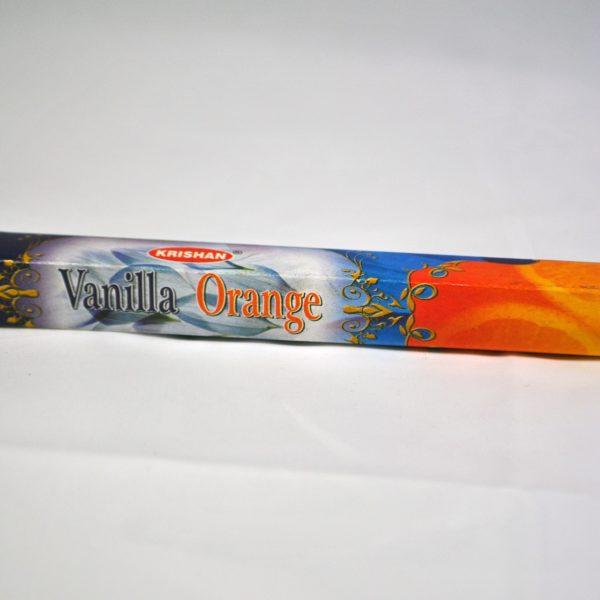 Encens Krishan Vanille Orange - Font