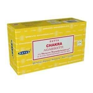 12 x Encens Satya 7 Chakra 15g - Encens