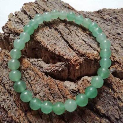 Bracelet en Aventurine Perles 8mm - Turquoise