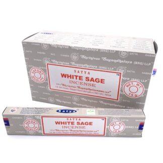 Boite encens satya white sage