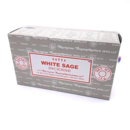 Boite encens satya sauge blanche