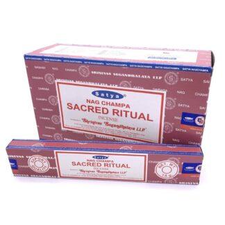 12 x Encens Satya rituel sacré 15 g