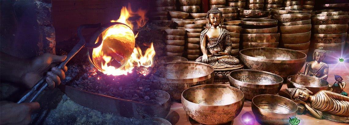 image bol chantant tibetain