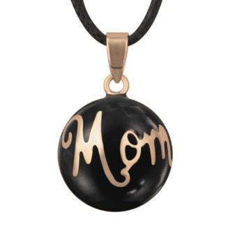 Bola grossesse noir Mom - le capuchon