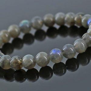 Bracelet perle labradorite