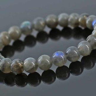 Bracelet en Labradorite Perles 8mm - perle