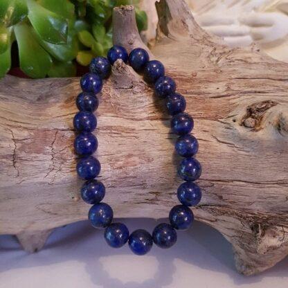 Bracelet Lapis Lazuli Perles 8mm - Améthyste