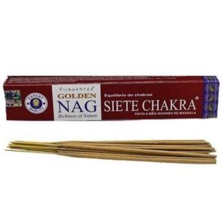Encens Vijayshree Golden Nag Seven Chakra