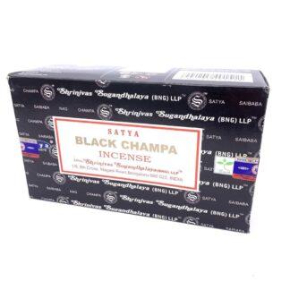 12 x Encens Satya Black Champa 15g