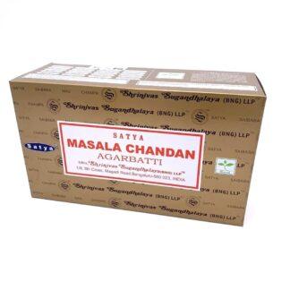 12 x Encens Satya Masala Chandan 15g