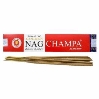 Encens Vijayshree Golden Nag Champa - Encens Golden Nag Vijayshree Fragrance 15g
