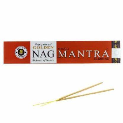 Encens Vijayshree Golden Nag Mantra - Encens