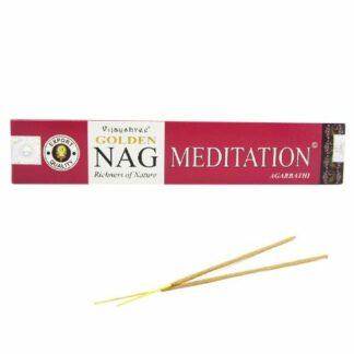 Encens Vijayshree Golden Nag Méditation - Encens