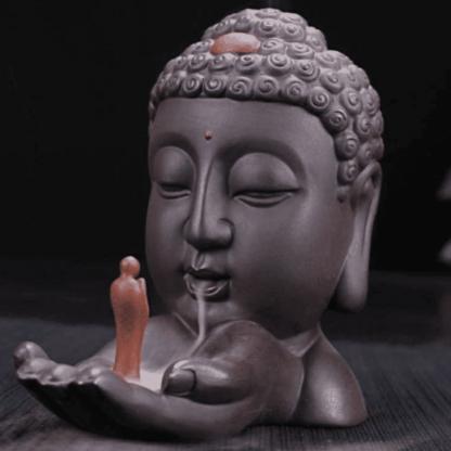 fontaine encens buddha