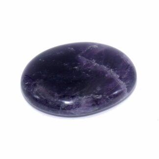 Galet pierre amethyste