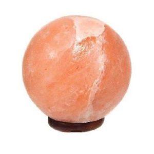 Lampe de sel de l'himalaya sphere