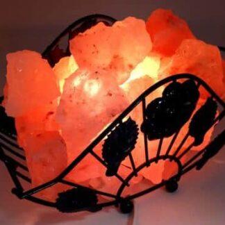 Lampe à sel