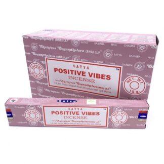 12 x Encens Satya Vibrations positives 15 g
