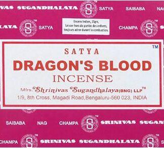 12 x Encens Satya sang du dragon 15 g